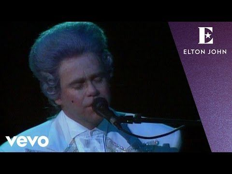 YouTube...SIR ELTON JOHN LIKE A CANDLE IN THE WIND