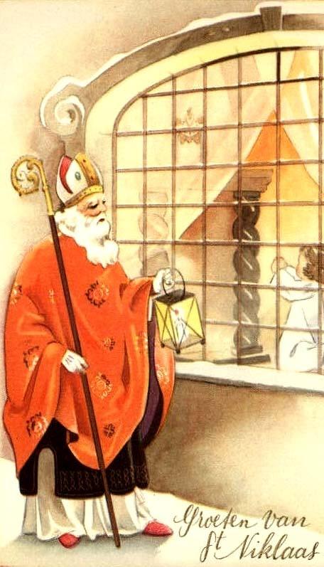 Groeten van St. Niklaas/ Greetings from St. Nicholas!
