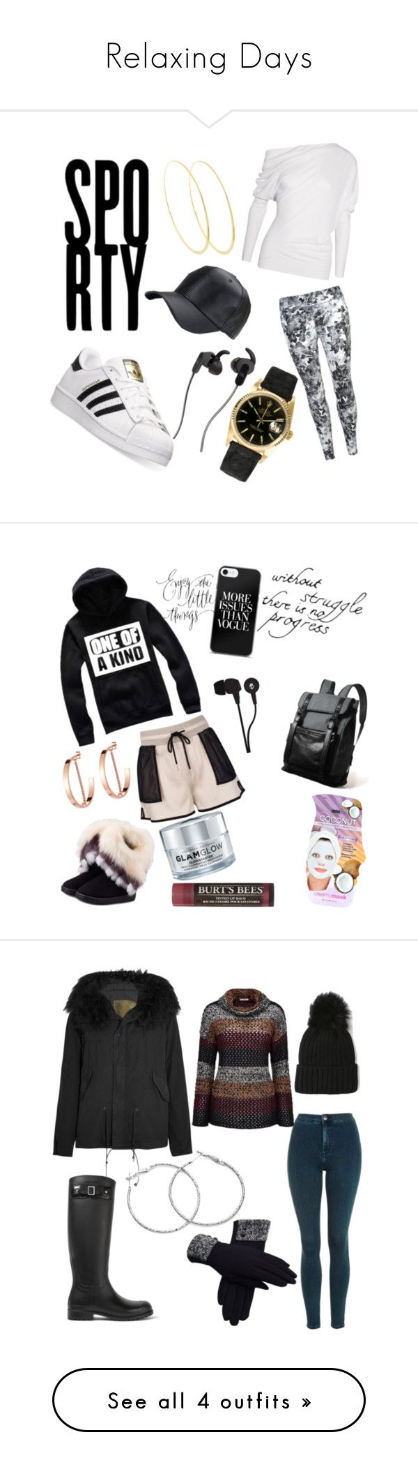 """""""Relaxing Days"""" by yortiz1974 ❤ liked on Polyvore featuring Tom Ford, USA Pro, adidas, Lana, JBL, Rolex, WithChic, Jenny Bird, GlamGlow and Burt's Bees"""