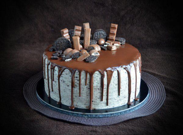 Oreo torta csurgatva  Oreo cake - Oreo drip cake