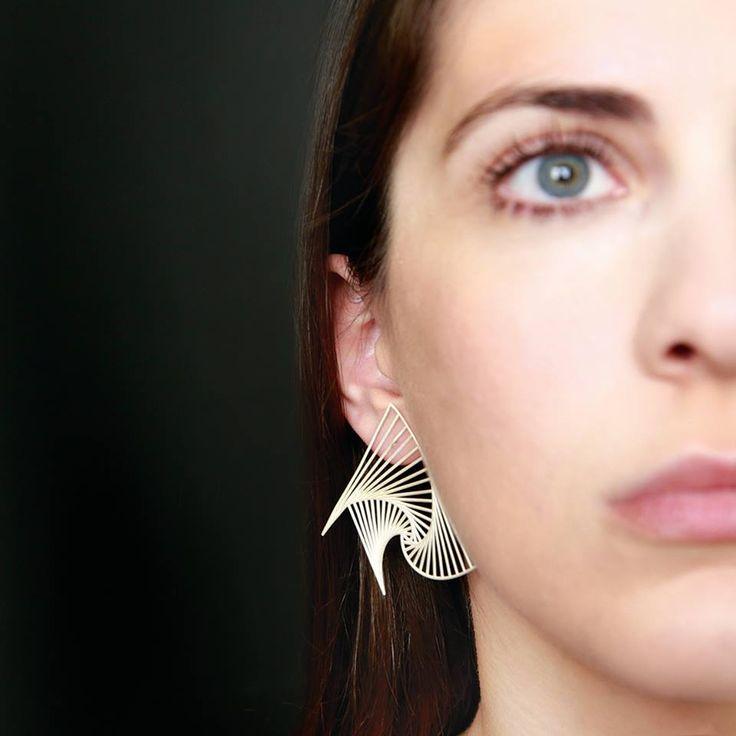 odd-studio movement dynamics earrings silver 925°