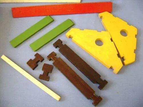 chalé suiço - brinquedos paraná - madeira caixa original