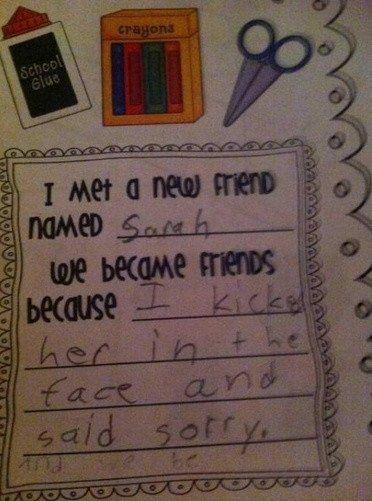 37 Hilarious Kid Notes: Make It Rain ... Tacos!