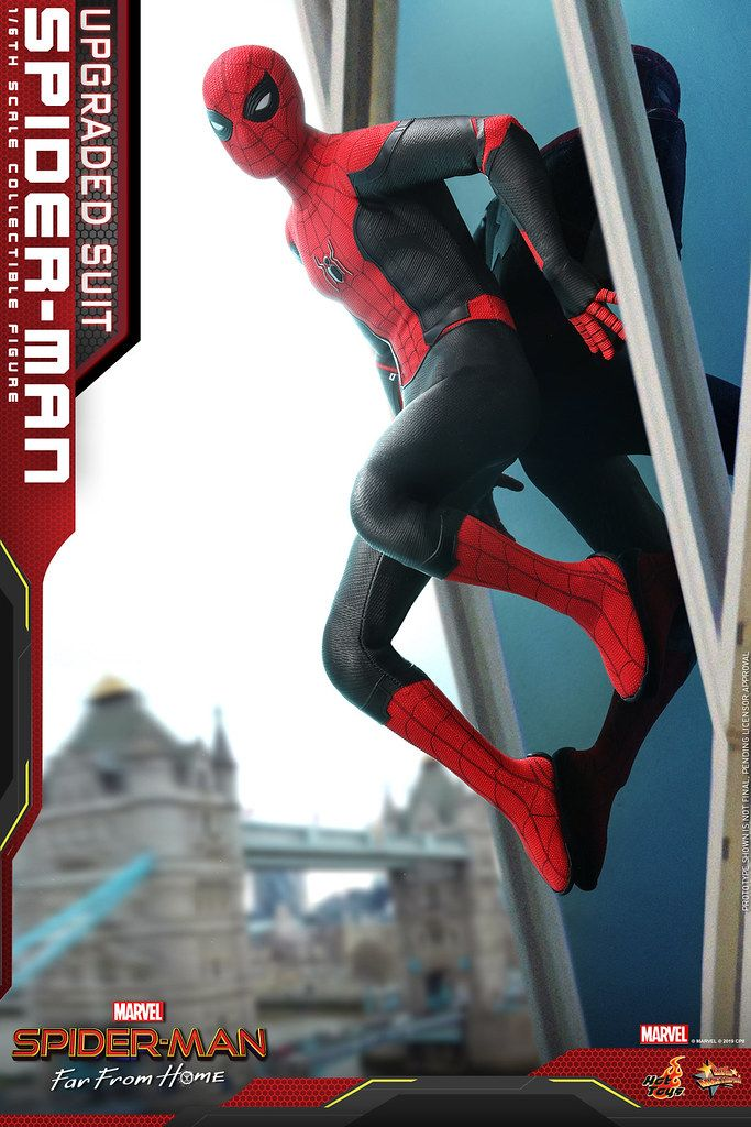 Hot Toys Mms542 蜘蛛人 離家日 蜘蛛人 升級版戰衣 Spider Man Upgraded Suit 1 6 比例人偶作品 玩具人toy People News Spiderman Hot Toys Suits