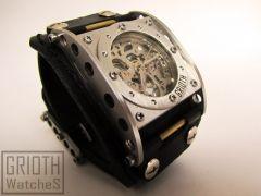 Industrial Watch by GRIOTH  #industrial #watch #custom #Handmade #steampunk #steamwatch
