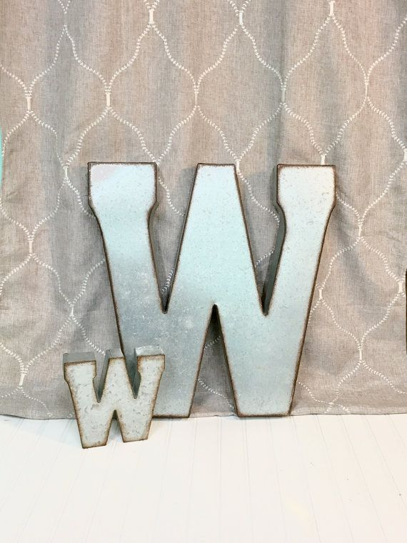 Large Metal Letters For Wall best 25+ metal wall letters ideas on pinterest | industrial wall