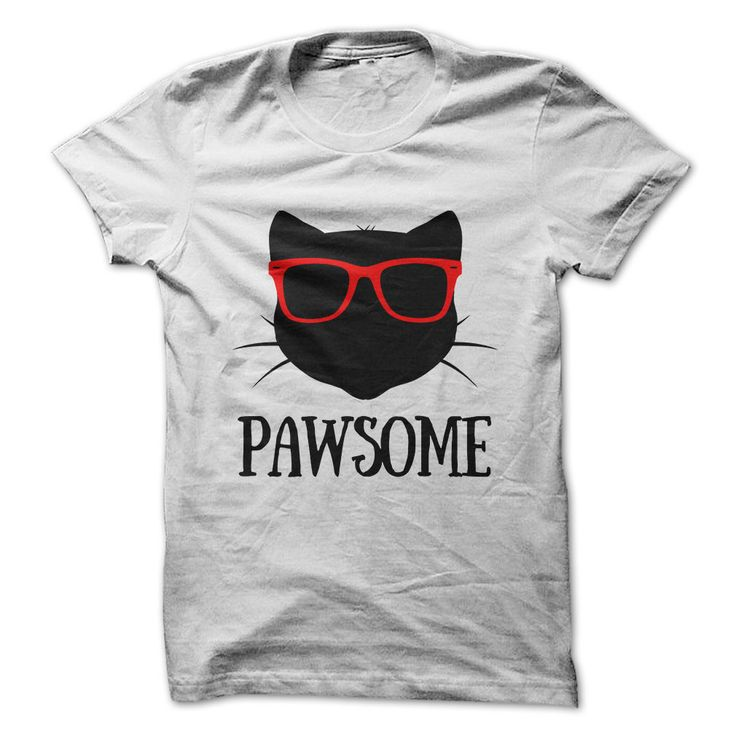 PawsomeWho is pawsome? You are!cat, cats, paw, paws, pet, pets, glasses, cool…
