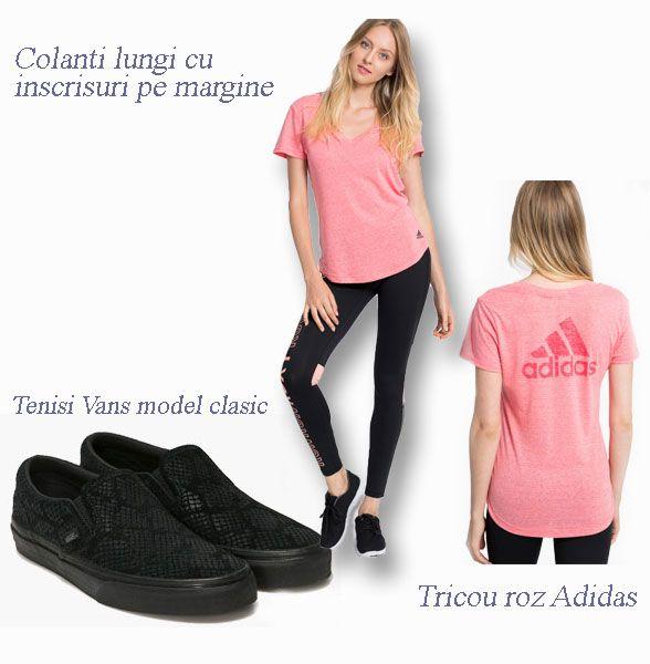 Stil sportiv cu nuante de roz