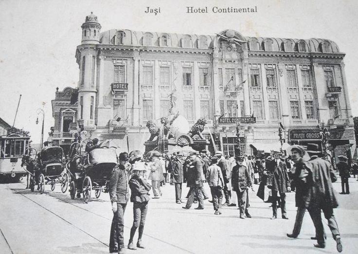 Hotel Continental, Iasi, Romania 1904