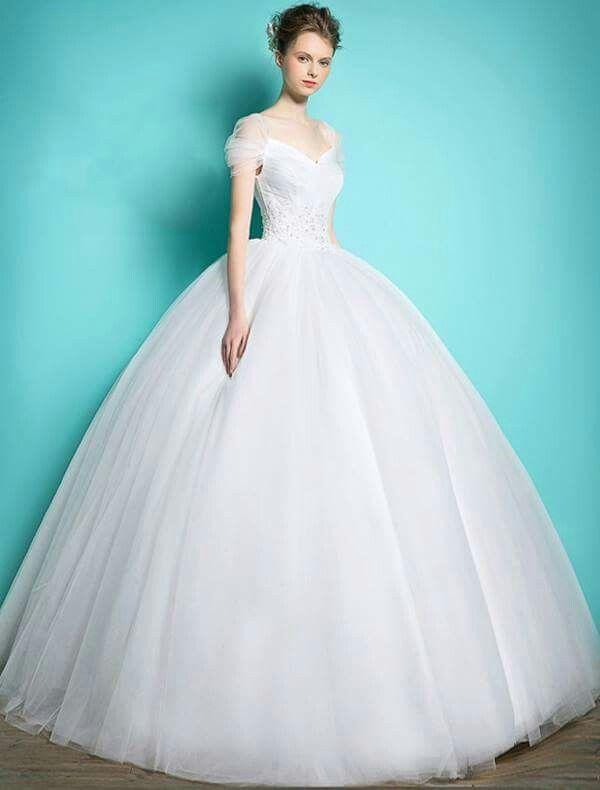 12 best vestidos de boda images on Pinterest | Gown wedding, Wedding ...