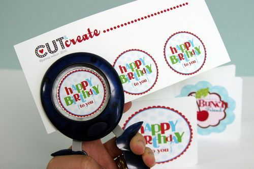 FREE.99 printable birthday card + tags