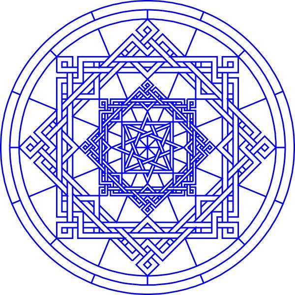 Islamic Art Patterns | Lakeside Geomertical Pattern clip art