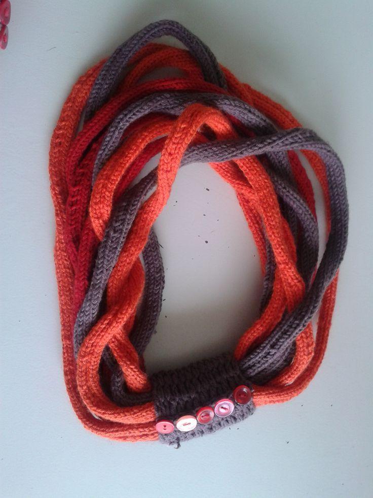 15m loop knitted scarve by Sefakwana Thenjwayo- Craft U.B.A