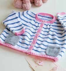 A fantastic selection of 6 new designs for our great Baby DK Range. Designs include: Hightops - Baby's First Trainers  Baby Chullos Striped Cardigan - Baby Breton Block Blankie - Cozy Cuddly Stripes Sleepy Elf Toy - Cute and Cuddly Companion Owl Pullover - What a Hoot!