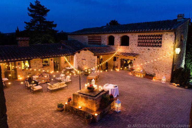 Intimate countryside wedding at San Galgano roofless church