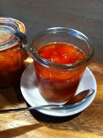 9 best images about recipes preserves on pinterest the for Peach preserves no pectin