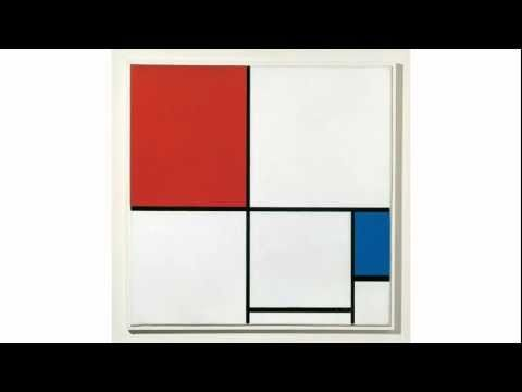 ▶ Piet Mondrian, Composition I, 1930, and Composition A, 1932 - YouTube an actual bio
