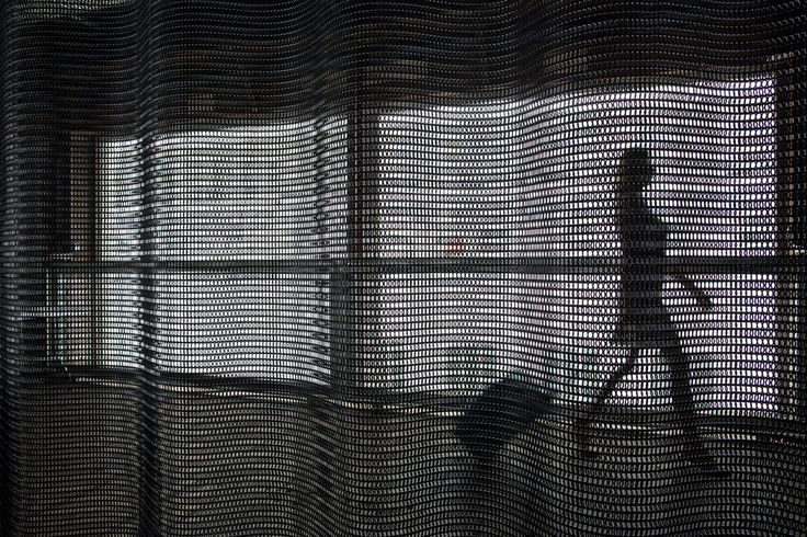 Modern Architectural Material Chainmail mesh