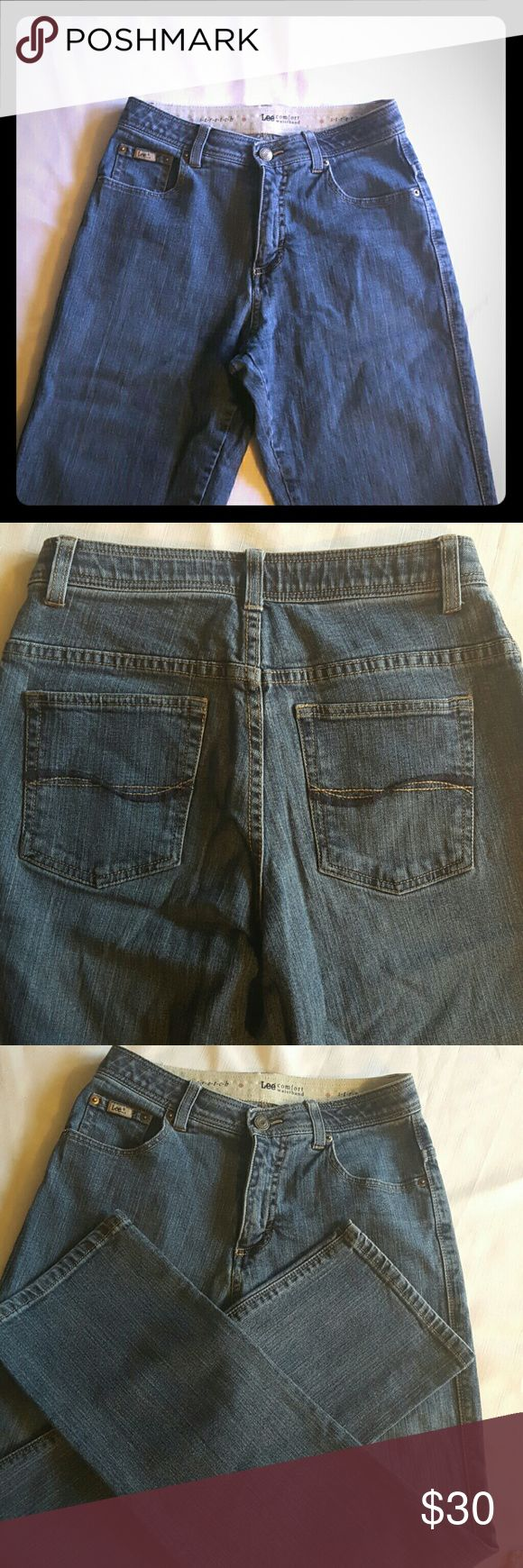 High waist Lee jeans In excellent condition Lee jeans Lee Jeans Straight Leg
