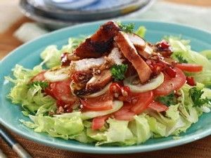 TOMATO VEGETABLE SALAD RECIPE