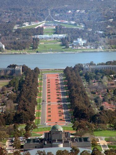Canberra, Australia.  Jules 2005.