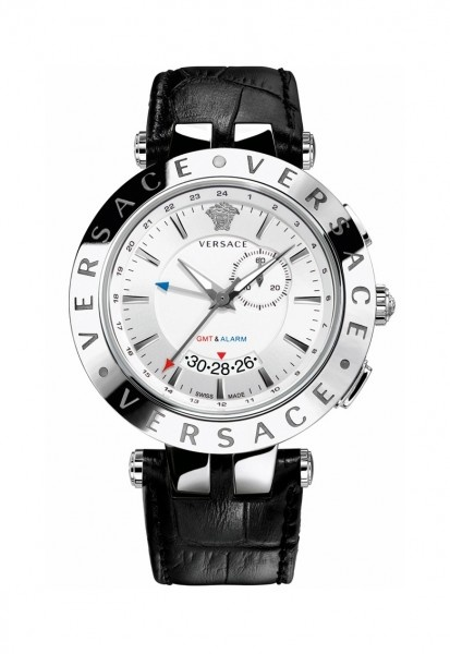 Ceasuri Versace Man V-Race Black Chrono Watch - Ceasuri de mana de lux in regim de Outlet #ceasuridemana #versace
