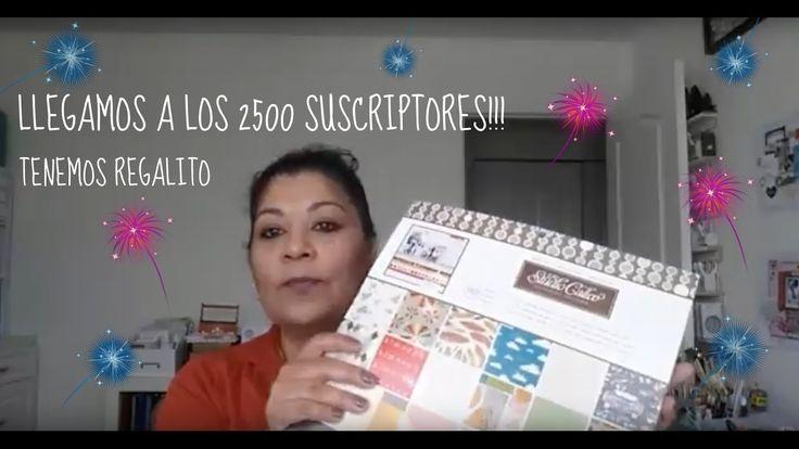 LLEGAMOS A LOS 2500 SUSCRIPTORES!!! VAMOS A CELEBRAR CON UN REGALITO