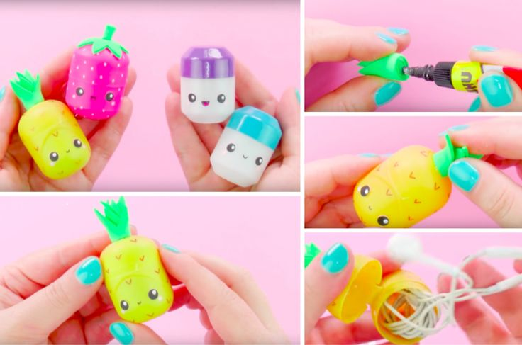 An adorable way to recycle Kinder eggs in a box for your headphones - Creatistic