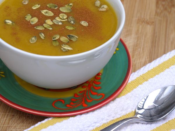 Butternut Squash and Apple Soup | Good Eating | Pinterest