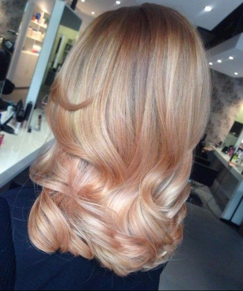 Neue Frisuren 2017 50 Natürliche Balayage Haarfarbe Ideen