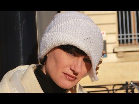 Вязаная шапочка Робин Гуда👧 1 видео. Шапка спицами лицевой и платочной в...