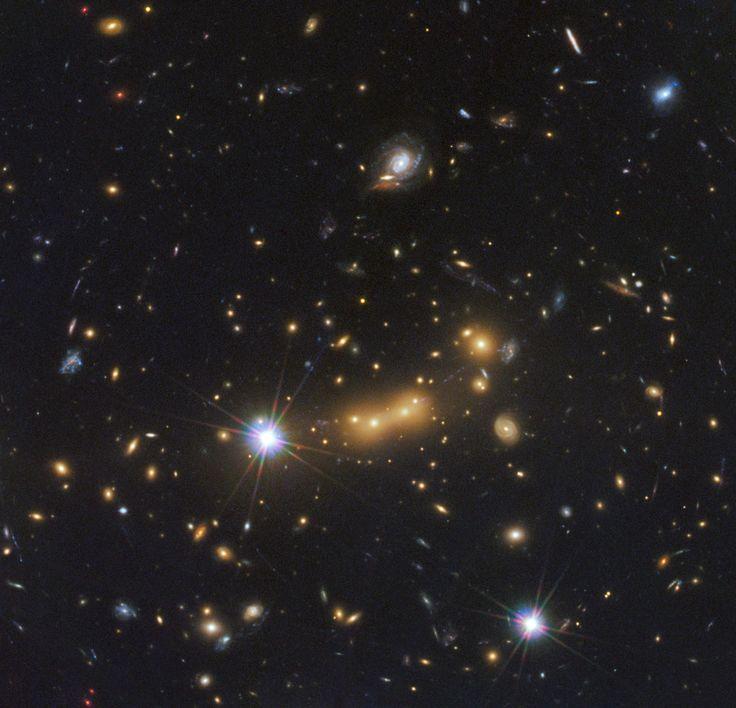 Galaxy Cluster MACS J0647 #space