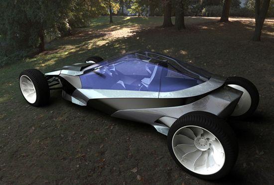 Interesting vehicle! Concept car