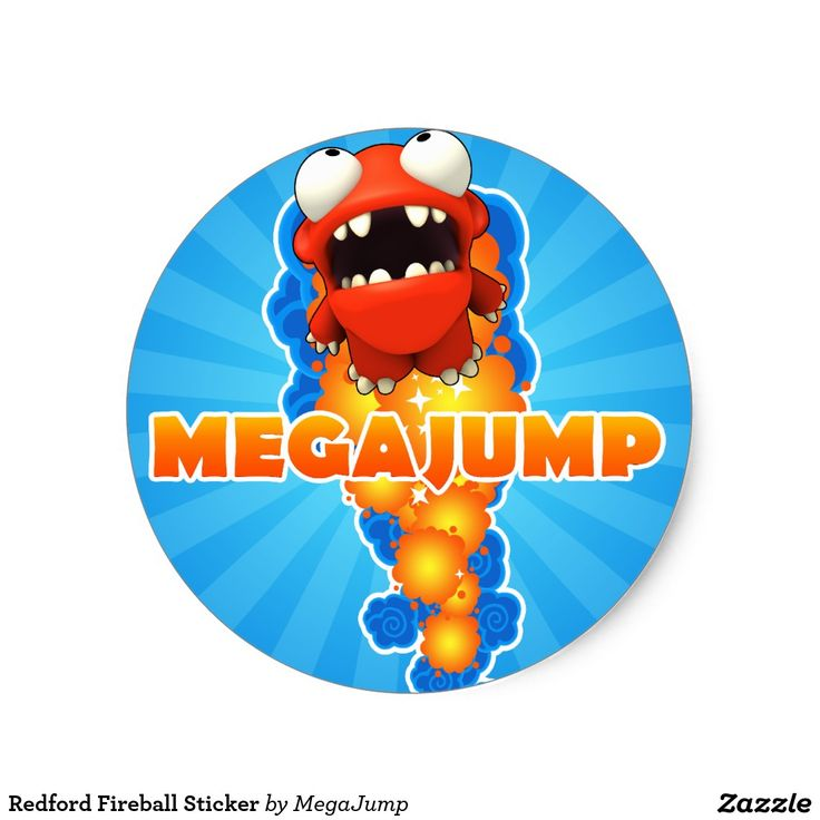 Redford Fireball Sticker #sticker