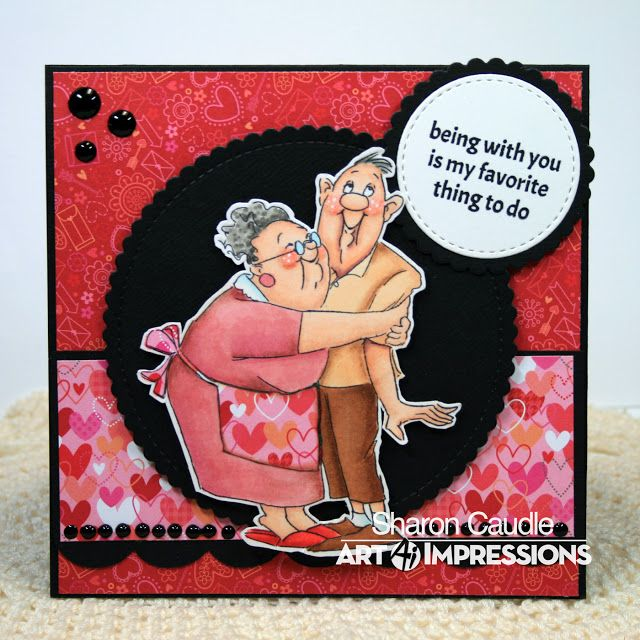 My Favorite Thing by Sharon (Art Impressions Stamps)