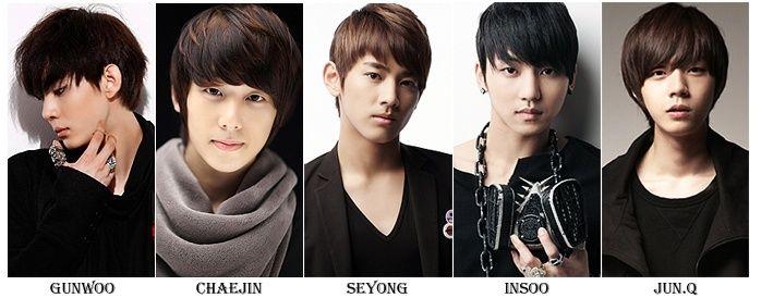 Members Name: MyName..kpop Group I Love Them