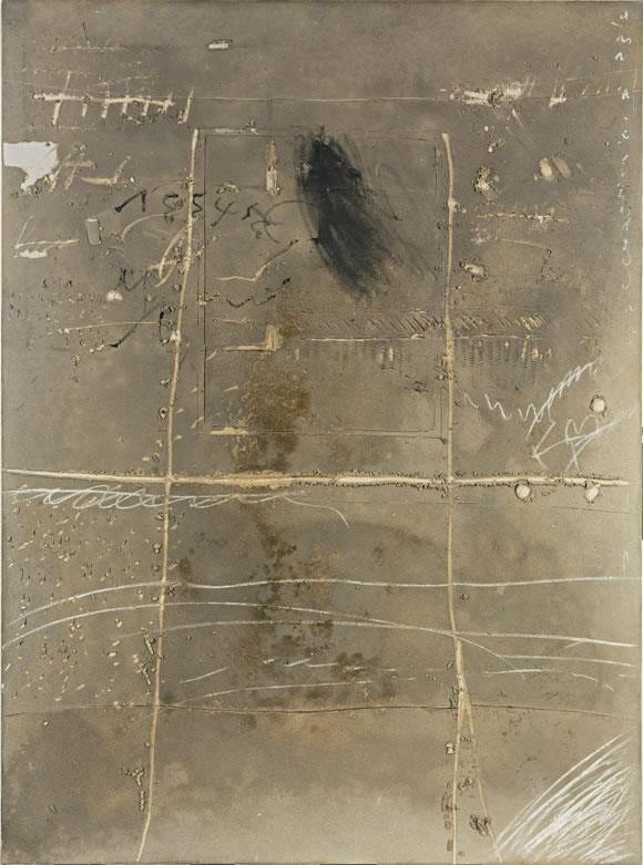 Antoni Tapies, one of my favorite Spanish artists.