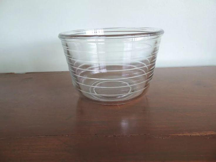 antiga tigela de vidro para batedeira marca pyrex