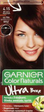 Garnier, Color Naturals Créme, trwała koloryzacja, nr 4.15 Mroźny Kasztan, 1 szt., nr kat. 139001 - Internetowa drogeria Rossmann - Zakupy online