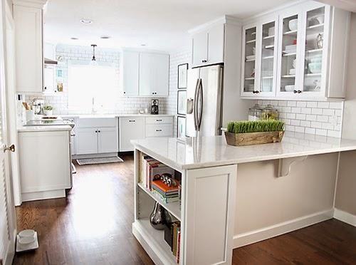 antes y despus el cambio de una cocina blanca decorar tu casa es