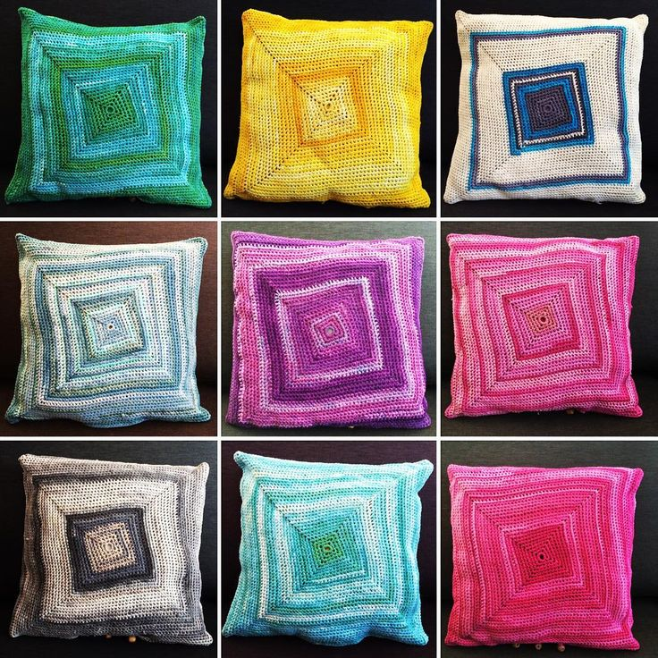 Pillow covers made from pantyhose factory waste. All for sale. Please contact me to buy: justyna.dziemska@gmail.com #upcycling #upcyclingdesign #homedecor #handmade #slowdesign #eco #pillow #cover #waste #forsale #justabag #madeinpoland #ecodesign #upcycleddesign