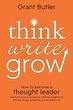 #NYR12 - #Grow - Think Write Grow | Butler
