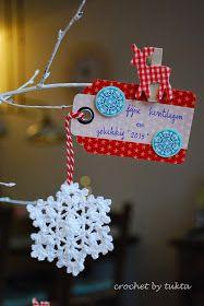 Crochet by Tukta: doily snow flake