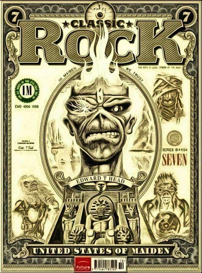 Pin De Keith Abt En Iron Maiden Carteles De Rock Iron Maiden Arte