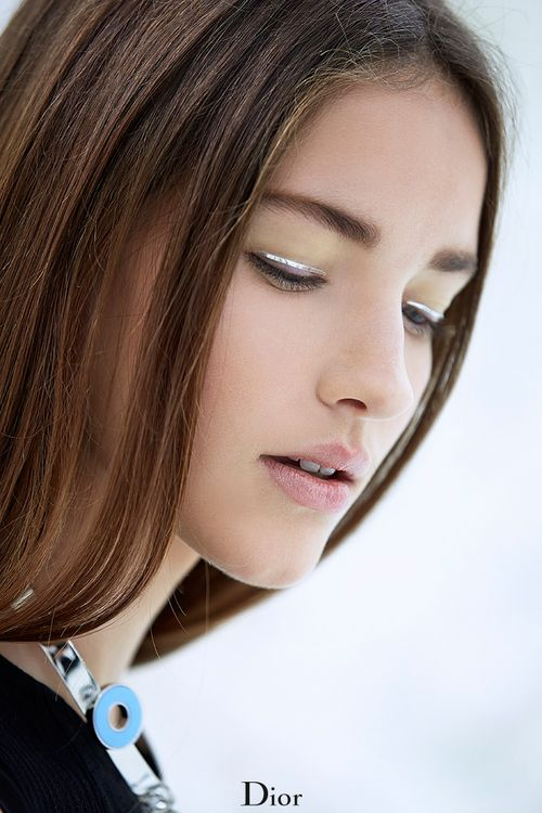 silver lined eyes | dior #beauty