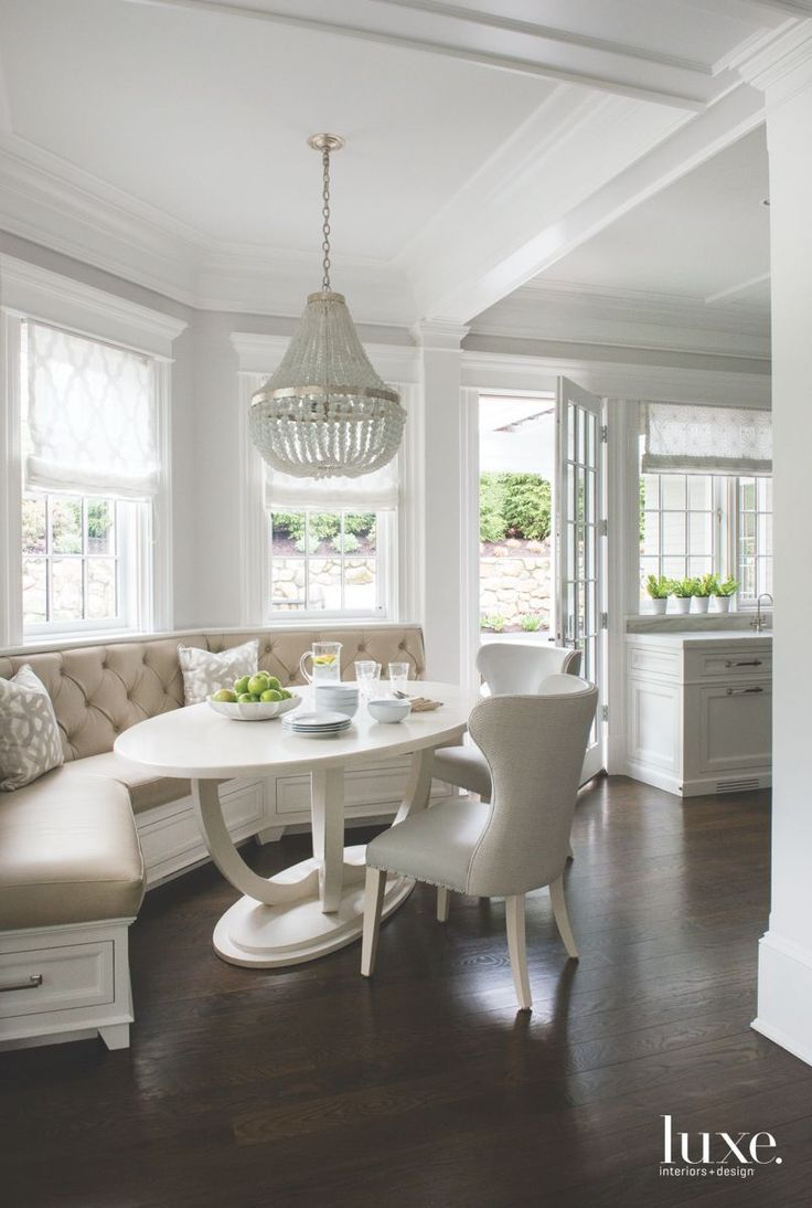 Pin On Breakfast Nook And Kitchen Lounge Area