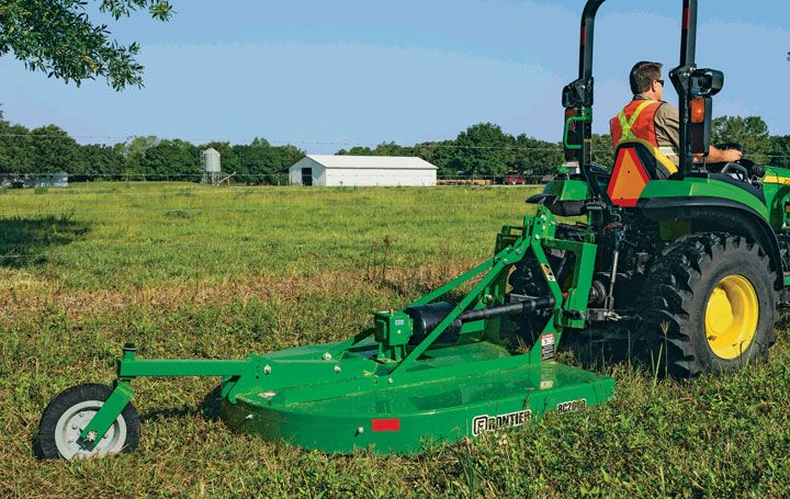 PTO Primer: How Does the Power Take-off System Work on Your Compact Tractor #construction #compact