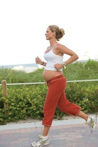 The Truth about Prenatal Exercise - busting myths about exercising including ab workouts, running, and resistance training.