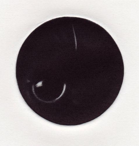 Stay Open Black #1 by GEORGIA PESKETT