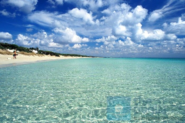 The awesome, clear sea of #Porto Cesareo